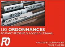 Ordonnances Portant Réforme du Code du Travail